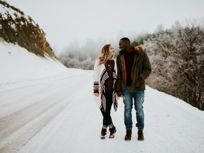 Idaho Mountain Couples Shoot