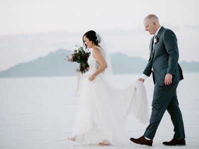 Nate & Misty Bonneville Salt Flats Adventure Session
