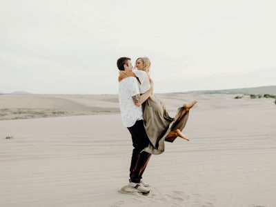 Camille + Tucker Engagement Session, Sand Dunes